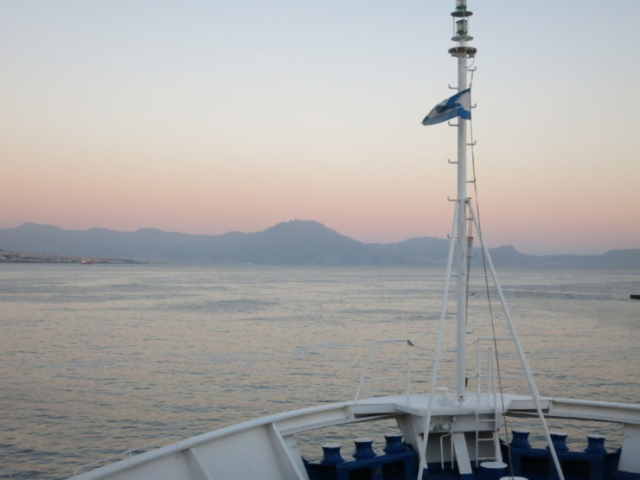 Ferry from Naples to Stromboli
