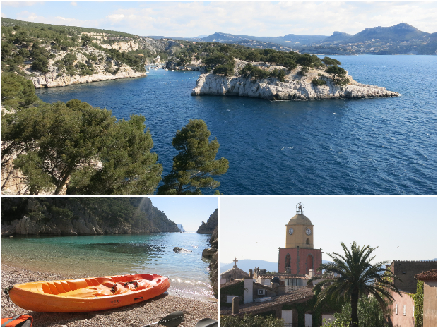 Calanques and French Riviera