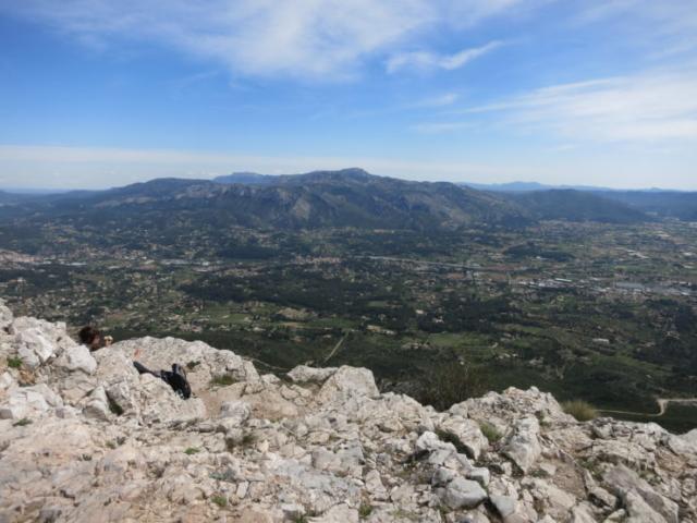 Hiking above Aubagne